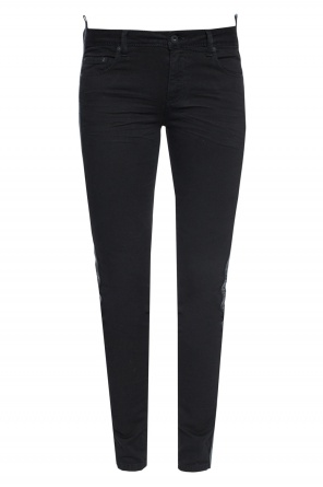 Skinny side-stripe jeans od Off White