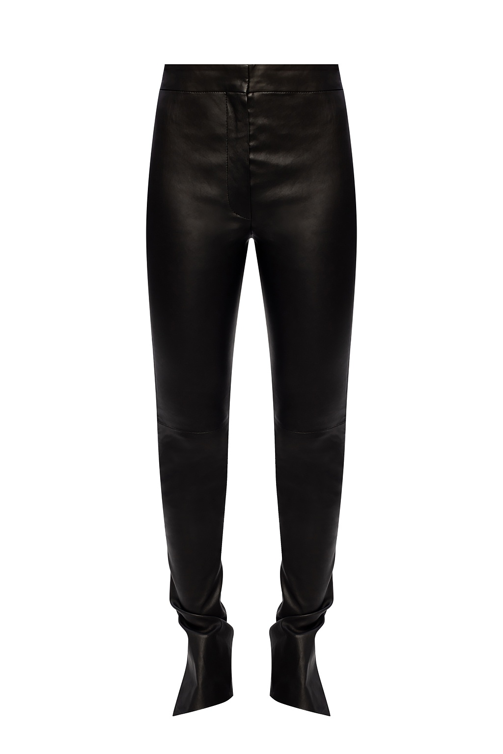 Off-White Leather trousers