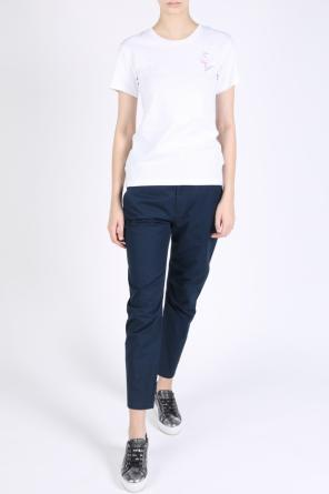 High-waisted trousers od Diesel