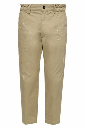 Paint-splattered trousers od Diesel