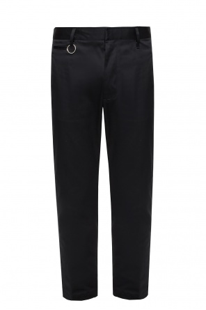Logo-patched trousers od Diesel