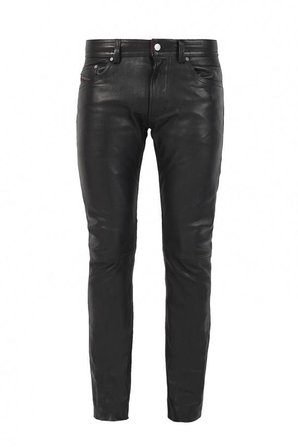 8894122282e Thavar  leather trousers Diesel - Vitkac shop online
