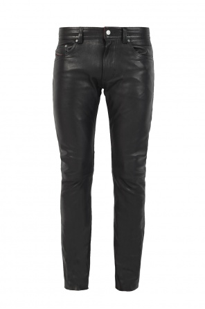 'thavar' leather trousers od Diesel