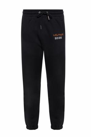 Sweatpants with embroidered pattern od Diesel