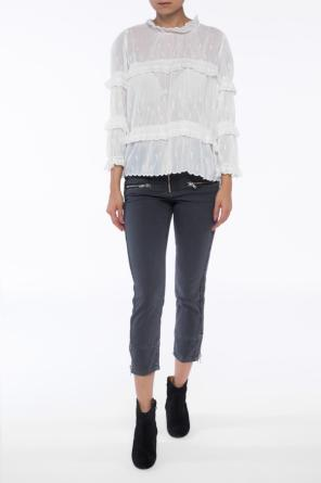 Jeans with ribbed inserts od Isabel Marant Etoile