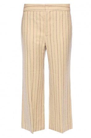Cropped loose fit trousers od Isabel Marant