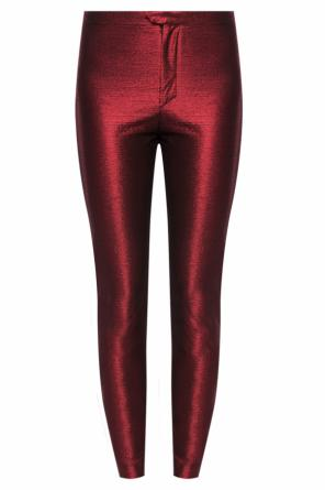 Metallic-sheen trousers od Isabel Marant