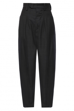 Loose fit checked trousers od Isabel Marant