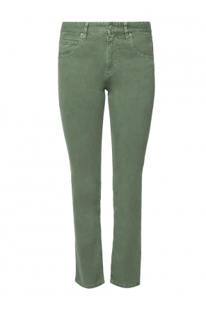 Logo-patched trousers od Isabel Marant Etoile