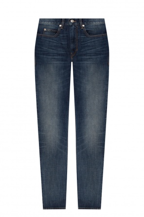 Jeans with worn effect od Isabel Marant