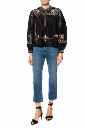 Jeans with inset pockets od Isabel Marant Etoile