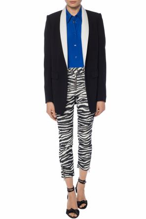 Trousers with a zebra motif od Isabel Marant Etoile