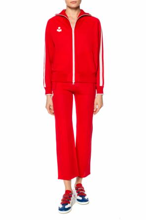 Sweatpants with sewn on application od Isabel Marant Etoile