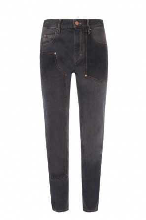 Jeans with stitching od Isabel Marant