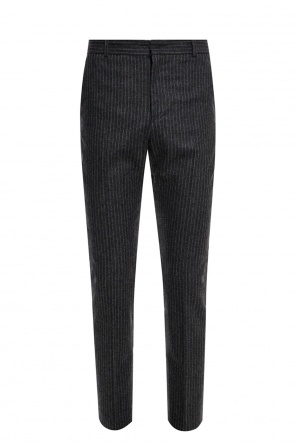 Trousers with a crease and a ribbed motif od Isabel Marant