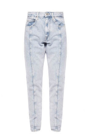 Jeans with stitching details od Isabel Marant