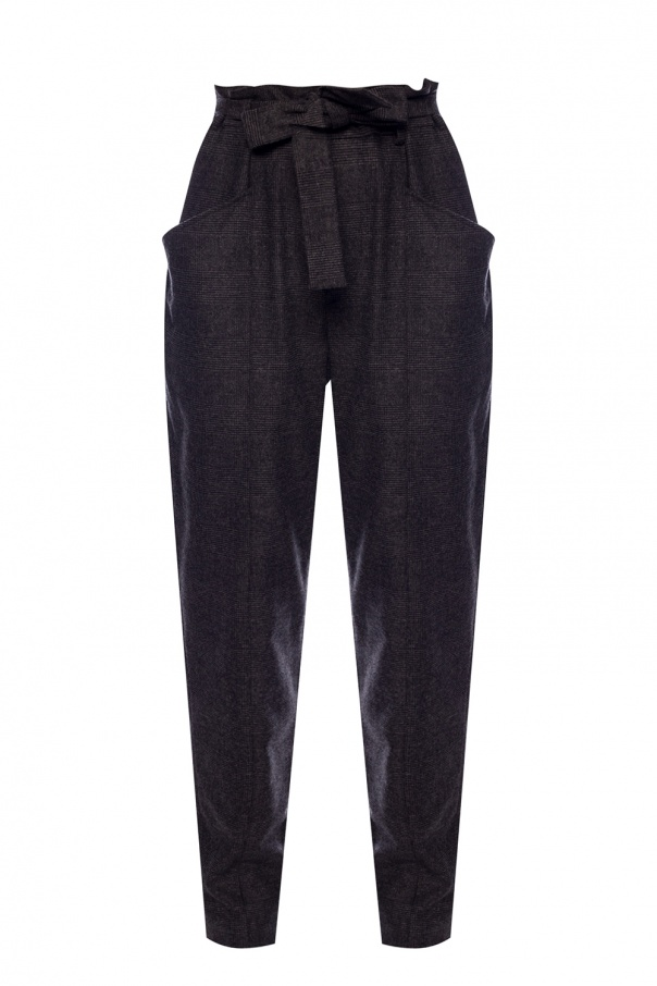 Isabel Marant Etoile Pleat-front trousers