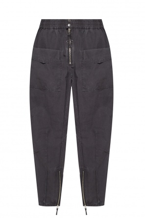 Zipped cuff trousers od Isabel Marant