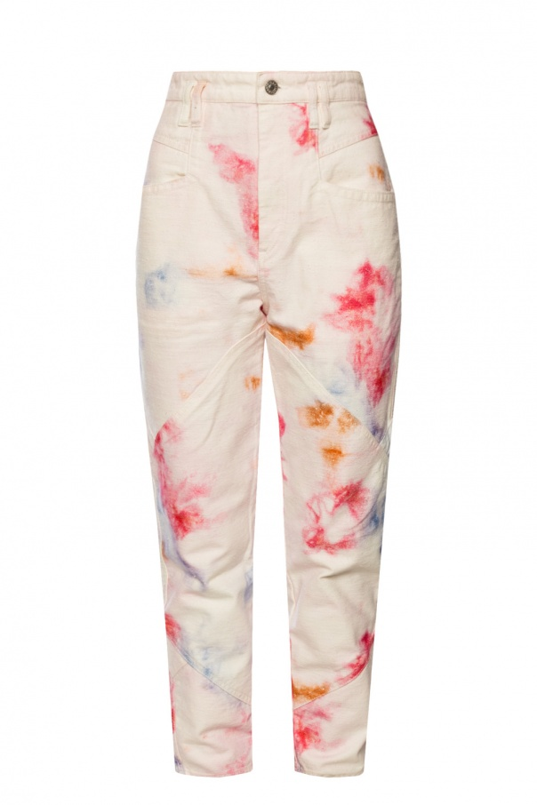 Isabel Marant Trousers with logo