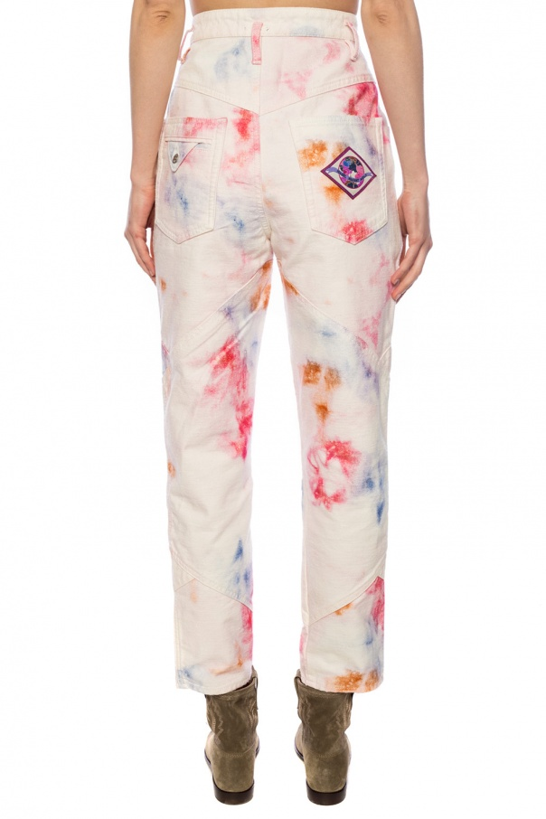 Trousers with logo od Isabel Marant