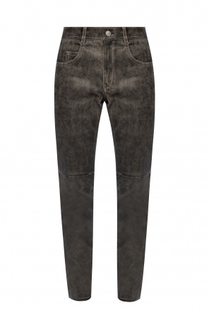 Trousers with worn effect od Isabel Marant Etoile