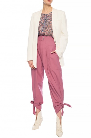 Trousers with tie fastening od Isabel Marant
