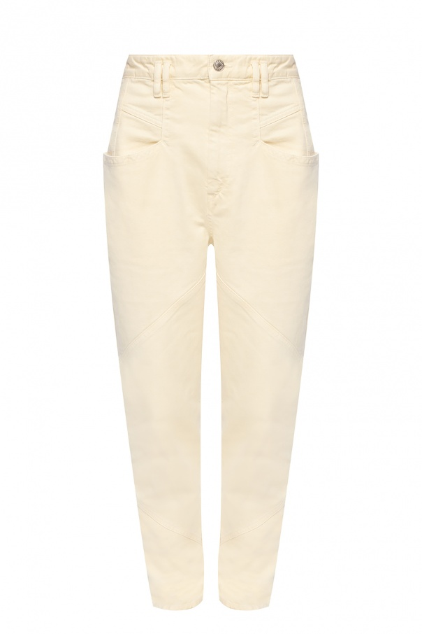 Isabel Marant Trousers with stitching details