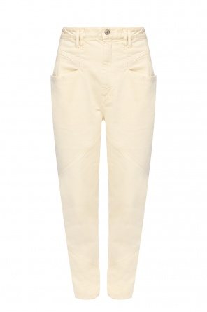 Trousers with stitching details od Isabel Marant