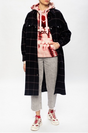 复古仿旧感牛仔裤 od Isabel Marant