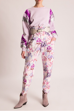 Printed trousers od Isabel Marant