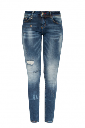 Jeans with logo od Philipp Plein