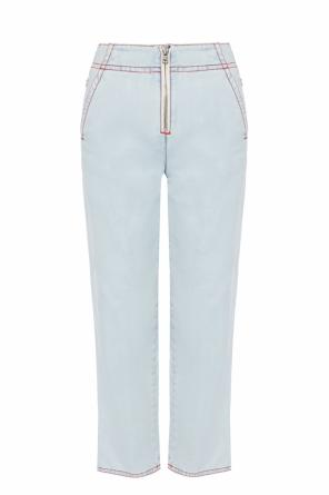 High-waisted jeans od Marni