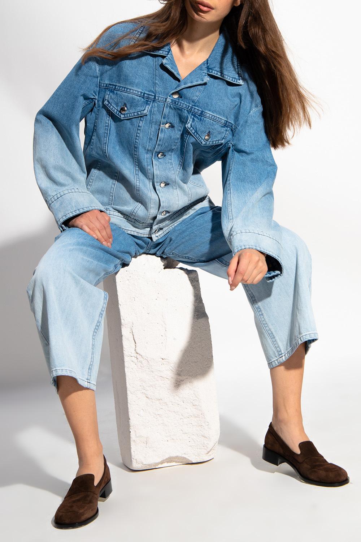 Marni Jeansy z efektem 'ombre'