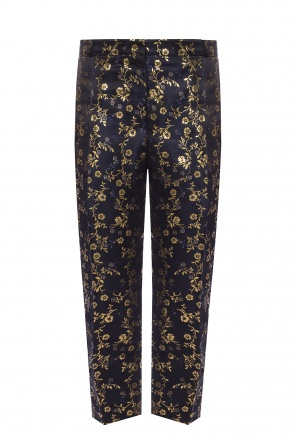 Embroidered trousers od Marni