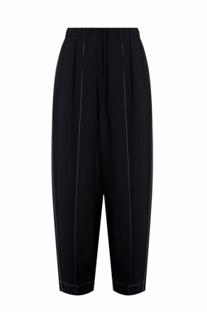Trousers with frontal crease od Marni