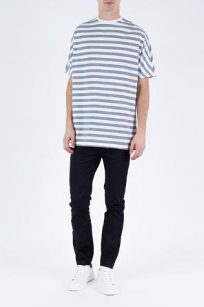 'parker' side-stripe jeans od Diesel Black Gold