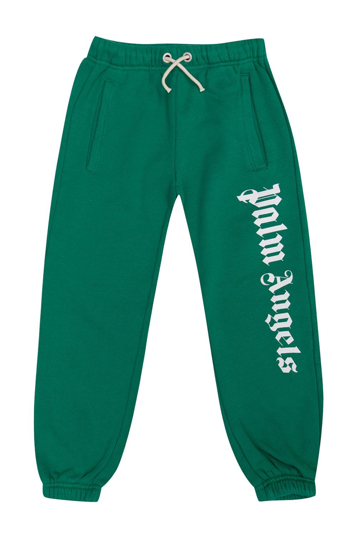 Palm Angels Kids Sweatpants with logo