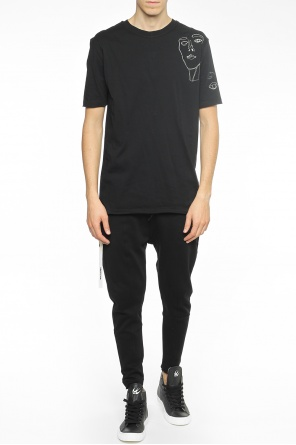 Dropped crotch trousers od Damir Doma