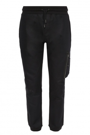 Trousers with pockets od Diesel Black Gold
