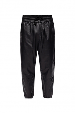 'penton' leather trousers od AllSaints