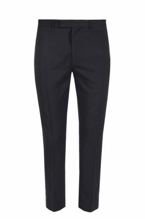 Formal pleat-front trousers od Diesel Black Gold