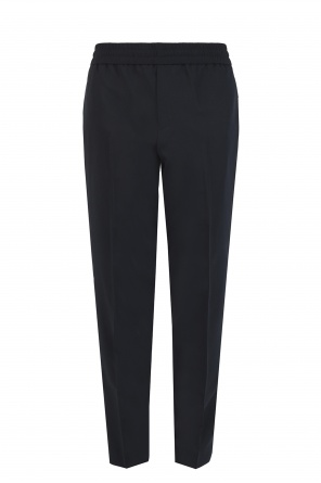 Side-stripe pleat-front trousers od Palm Angels