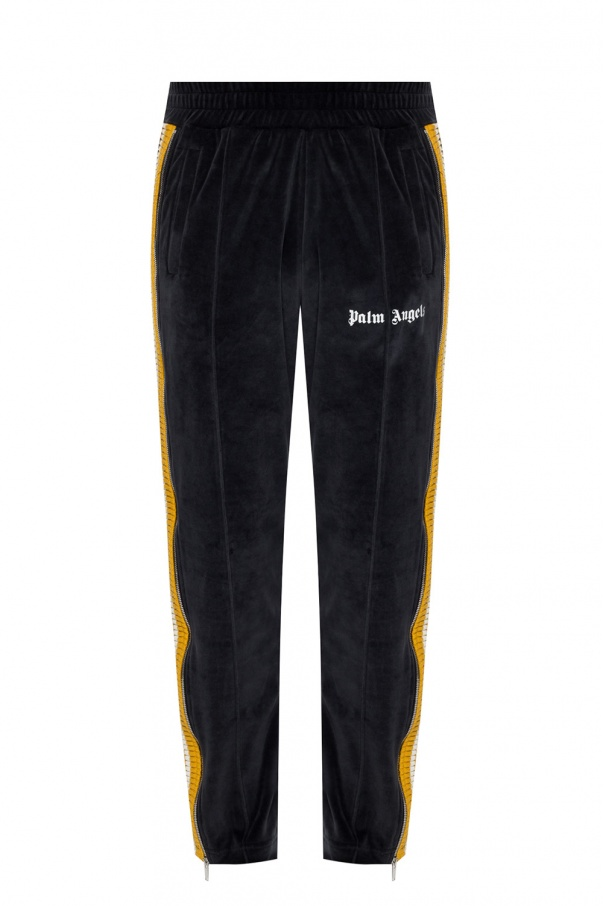 Palm Angels Velvet sweatpants