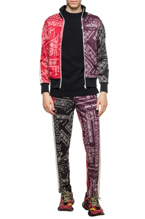 Patterned trousers with side stripes od Palm Angels