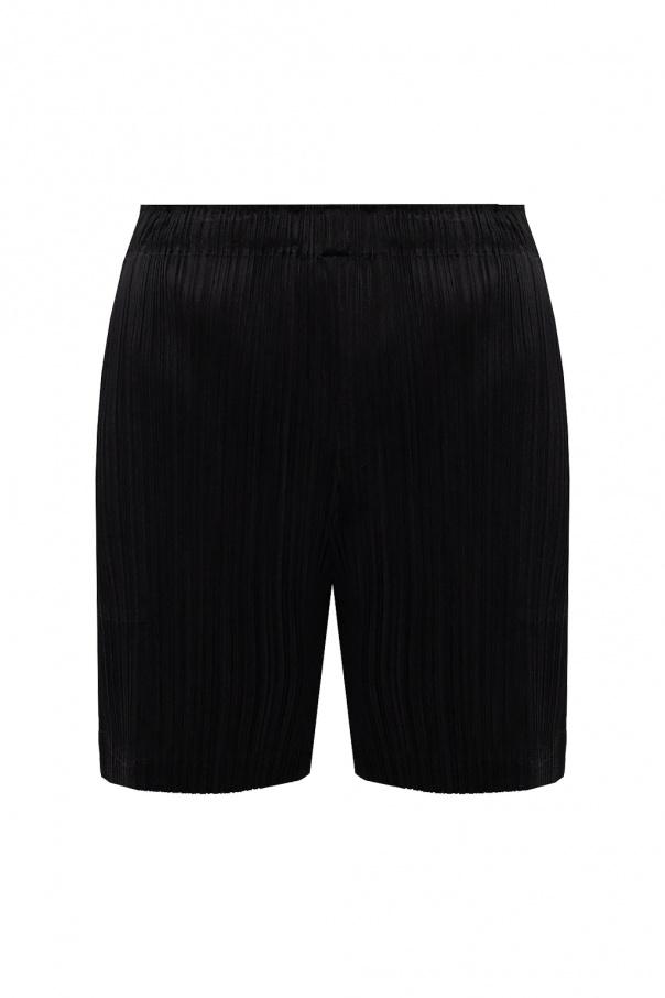 Issey Miyake Women Pleated shorts