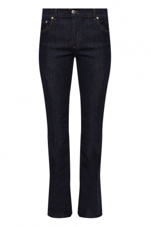 Side-stripe flared jeans od Valentino Red