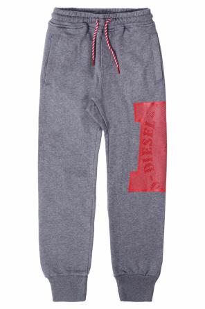 Printed sweatpants od Diesel