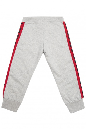 Logo-embroidered sweatpants od Diesel