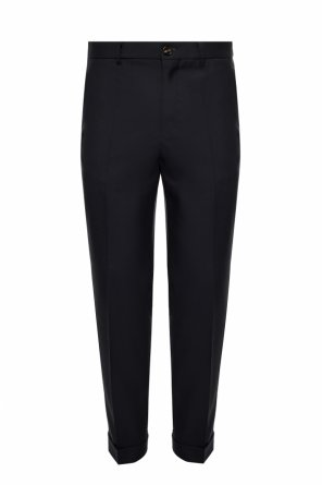 Wool pleat-front trousers od Marni