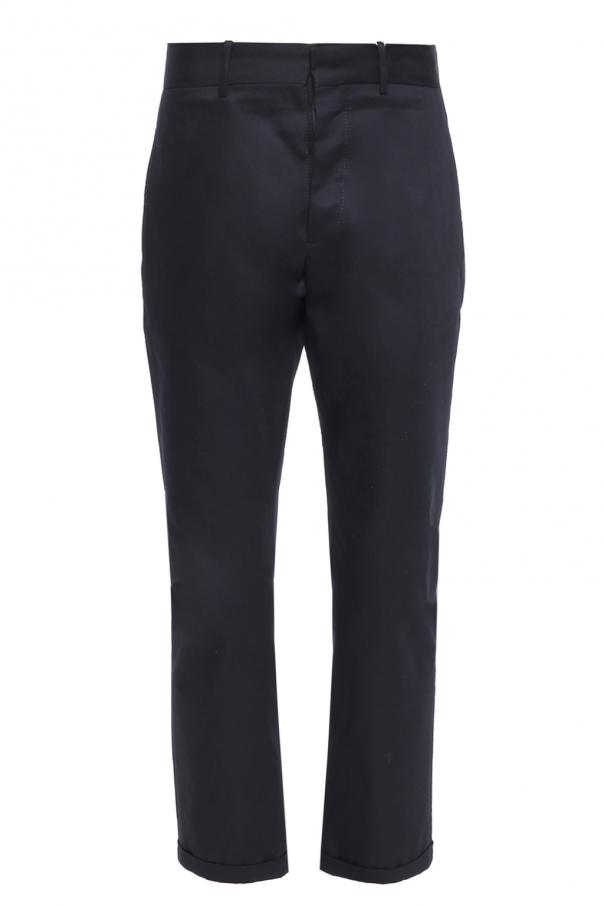 Trousers with rolled-up cuffs od Marni